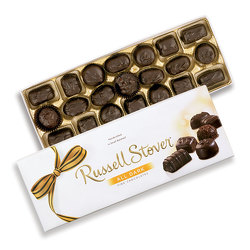 12oz Russell Stovers Assorted Dark Chocolates from Victor Mathis Florist in Louisville, KY