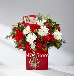 The FTD® Holiday Cheer™ Bouquet  from Victor Mathis Florist in Louisville, KY
