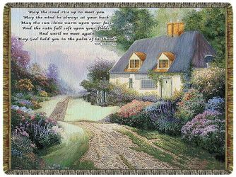 Cottage Path Tapestry from Victor Mathis Florist in Louisville, KY