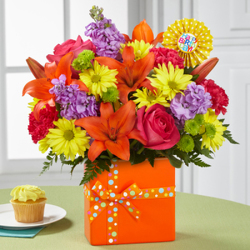 The FTD® Set to Celebrate™ Birthday Bouquet from Victor Mathis Florist in Louisville, KY