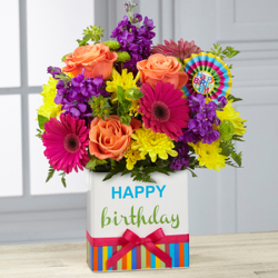 The FTD� Birthday Brights Bouquet from Victor Mathis Florist in Louisville, KY