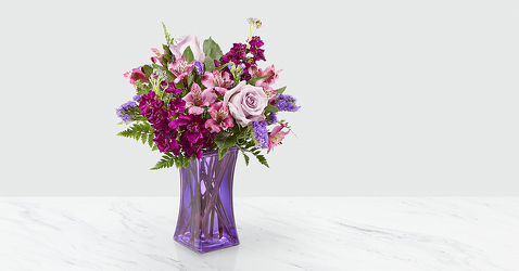 The FTD Purple Presence™ Bouquet from Victor Mathis Florist in Louisville, KY