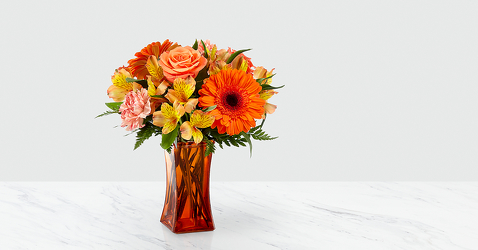 The FTD Orange Essence™ Bouquet from Victor Mathis Florist in Louisville, KY