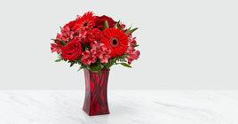 The FTD Red Reveal™ Bouquet