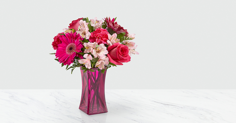 The FTD Raspberry Rush™ Bouquet from Victor Mathis Florist in Louisville, KY