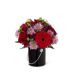 The FTD Color Your Night With Intrigue Bouquet from Victor Mathis Florist in Louisville, KY