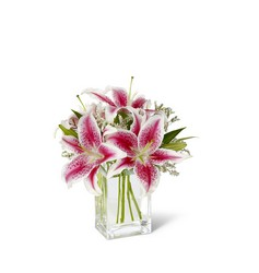 The FTD Pink Lily Bouquet from Victor Mathis Florist in Louisville, KY