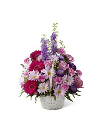 The FTD Pastel Peace(tm) Basket from Victor Mathis Florist in Louisville, KY