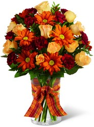 The FTD Golden Autumn Bouquet from Victor Mathis Florist in Louisville, KY