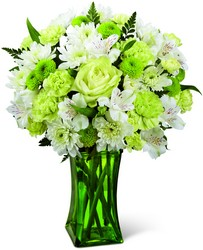 The FTD Lime-Licious Bouquet from Victor Mathis Florist in Louisville, KY