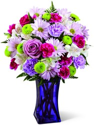 The FTD Purple Pop Bouquet from Victor Mathis Florist in Louisville, KY