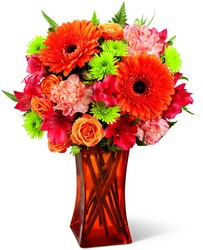 The FTD Orange Escape Bouquet from Victor Mathis Florist in Louisville, KY