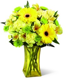 The FTD Lemon Groove Bouquet from Victor Mathis Florist in Louisville, KY