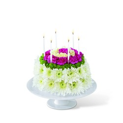 The FTD Wonderful Wishes Floral Cake from Victor Mathis Florist in Louisville, KY