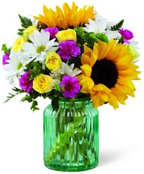 The FTD Sunlit Meadows Bouquet by Better Homes and Gardens from Victor Mathis Florist in Louisville, KY