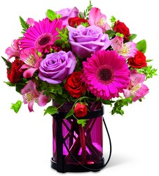 The FTD Pink Exuberance Bouquet by Better Homes and Gardens from Victor Mathis Florist in Louisville, KY