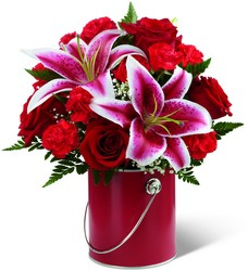The FTD Color Your Day With Radiance Bouquet  from Victor Mathis Florist in Louisville, KY