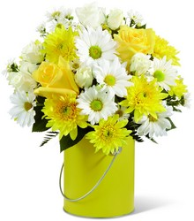 The FTD Color Your Day With Sunshine Bouquet from Victor Mathis Florist in Louisville, KY