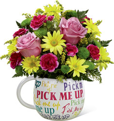 The FTD Pick-Me-Up Bouquet from Victor Mathis Florist in Louisville, KY