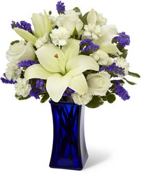 The FTD Beyond Blue Bouquet from Victor Mathis Florist in Louisville, KY