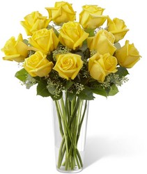 The FTD Yellow Rose Bouquet from Victor Mathis Florist in Louisville, KY