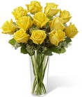 The FTD Yellow Rose Bouquet