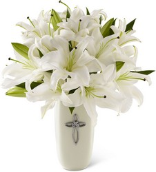 The FTD Faithful Blessings Bouquet from Victor Mathis Florist in Louisville, KY