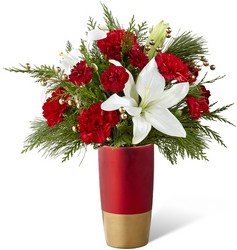 The FTD Holiday Celebrations Bouquet from Victor Mathis Florist in Louisville, KY