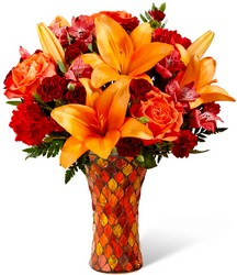 The FTD Autumn Splendor Bouquet from Victor Mathis Florist in Louisville, KY