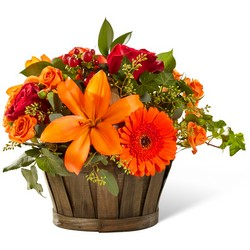 The FTD Harvest Memories Basket from Victor Mathis Florist in Louisville, KY