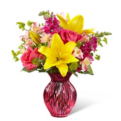 The FTD Happy Spring Bouquet from Victor Mathis Florist in Louisville, KY