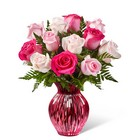 The FTD Happy Spring Mixed Rose Bouquet