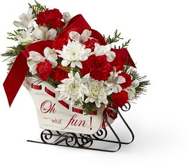 The FTD Holiday Traditions Bouquet from Victor Mathis Florist in Louisville, KY