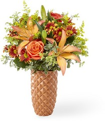 The FTD Warm Amber Bouquet from Victor Mathis Florist in Louisville, KY