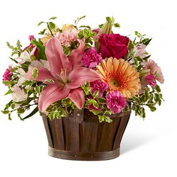 The FTD Spring Garden Basket from Victor Mathis Florist in Louisville, KY