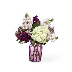 The FTD Violet Delight Bouquet from Victor Mathis Florist in Louisville, KY