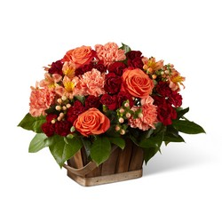 The FTD Abundant Harvest Basket from Victor Mathis Florist in Louisville, KY