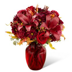 The FTD Autumn Treasures Bouquet from Victor Mathis Florist in Louisville, KY