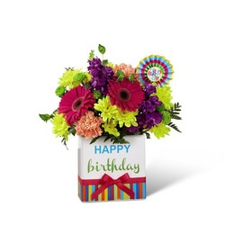 The FTD Birthday Brights Bouquet from Victor Mathis Florist in Louisville, KY