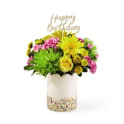 The FTD Birthday Sprinkles Bouquet from Victor Mathis Florist in Louisville, KY