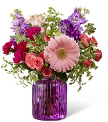 The FTD Purple Prose Bouquet by Better Homes and Gardens  from Victor Mathis Florist in Louisville, KY