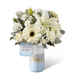 The FTD Sweet Baby Boy Bouquet by Hallmark from Victor Mathis Florist in Louisville, KY