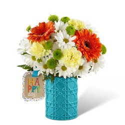 The FTD Happy Day Birthday Bouquet by Hallmark from Victor Mathis Florist in Louisville, KY