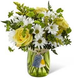 The FTD Hello Sun Bouquet from Victor Mathis Florist in Louisville, KY