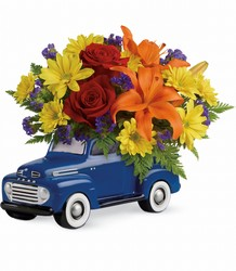 Vintage Ford Pickup Bouquet by Teleflora from Victor Mathis Florist in Louisville, KY