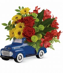 Glory Days Ford Pickup by Teleflora  from Victor Mathis Florist in Louisville, KY