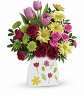 Teleflora's Make Their Daisies Bouquet