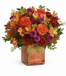 Teleflora's Golden Amber Bouquet from Victor Mathis Florist in Louisville, KY