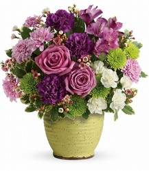 Teleflora's Spring Speckle Bouquet from Victor Mathis Florist in Louisville, KY