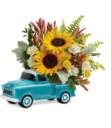 Chevy Pickup Bouquet from Victor Mathis Florist in Louisville, KY